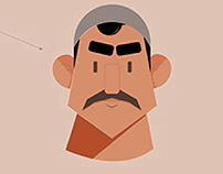 Egyptian character design