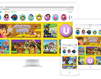 Nick Jr - Website re-design