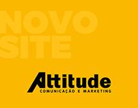 Lançamento novo site institucional Attitude