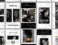Sigrlami — Instagram Posts & Stories PSD Templates