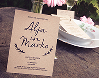 Alja + Marko - Wedding prints