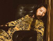 Asian fashion shoot