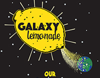 """Galaxy Lemonade"" lemonade stand graphic"