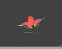 Romia  explore garden   logo