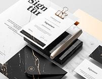 Signature Branding Mockup Kit