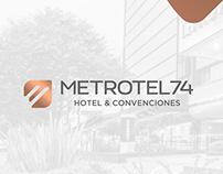 Metrotel 74 Rebranding 2019