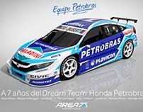 2018 Honda Civic STC2000 Homenaje Equipo Petrobras 2010