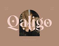 FREE | Qaligo Luxury Serif Font