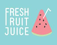 Fresh Fruit Juice Identity
