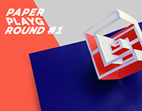 PAPER PLAYGROUND #1 – Exhibition Design