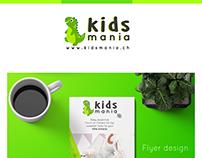 Kids Mania Brand design.