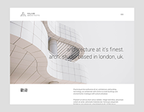 Architecture Studio Website