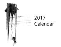 Calligraphy Calendar 2017