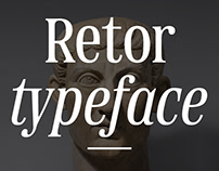 Retor typeface
