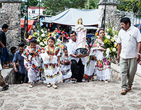 Festival de Santa Ines, Dzitas, Mexico