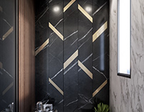 Modern Bathroom HDR 300 Project