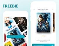 THEATRE - Movie ticket mobile app and website design