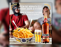 Astika - Promo beer /concept/