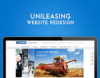 UNILEASING website redesign