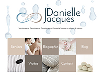 Logo et Marketing de Danielle Jacques