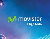 Gráficas de marca - Movistar Elige Todo.