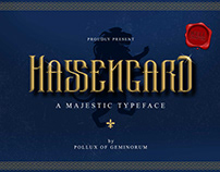 Hassengard - A Majestic Typeface
