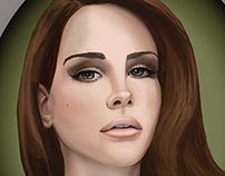 Lana Del Rey Portrait