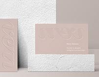 Debossed Business Card Mockup [ A ver. ]