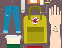 """""""Art School Essentials"""" Poster"""
