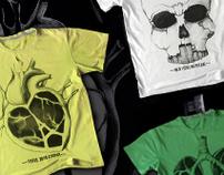 T-shirt prints: Cities&Anatomy