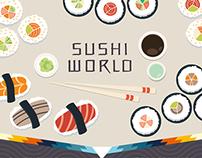 Sushi World - Infographic