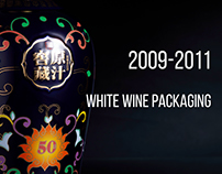 2009-2011 White wine packaging