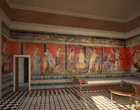 Villa reconstruction 1— Pompeii, Italy.