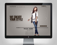 Trendy Fashion Website