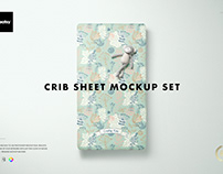Crib Sheet Mockup Set