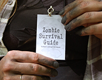 Letterpress Zombie Survival Guide