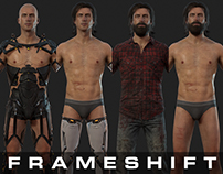 Frameshift 3D Character Models