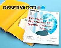 Observador: portuguese newspaper.