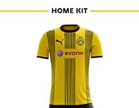 Borussia Dortmund Football Kit 17/18.