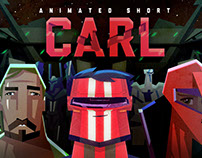 Carl - character design for animated short
