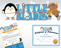 Logo & Graphic Design for Little Blades