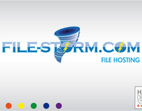 Logo Design for File-Storm.com