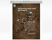 "Electronic Direct Mailer: WWF ""Save our Tigers"""