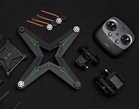 XIRO-零度无人机模块化设计(个人原创设计)