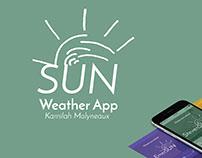 Sun Weather App