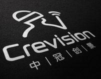 crevision logo design