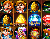 Slot game : Gold Rush