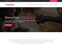 Sahajjo - Charity / Fundraising Nonprofit WordPress The