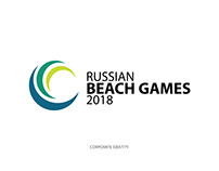 Russian Beach Games 2018 - Corporate Identity