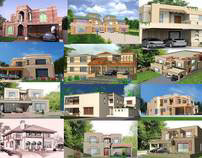 CONSULTANCY. Bungalows wid varied Architectural Designs